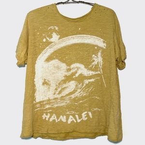 New magnolia pearl hanalei tee marigold boyfriend